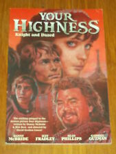 YOUR HIGHNESS KNIGHT AND DAZED DARK HORSE SIGNED BY SEAN PHILLIPS< 9781595826206
