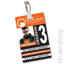 Black Mesa - Gordon Freeman - Novelty ID - Inspired By Half Life