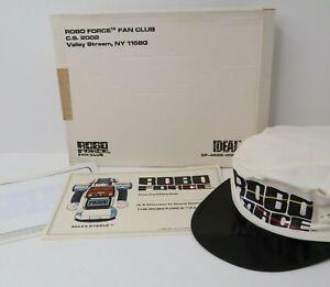 1984 Ideal Robo Force Fan Club Original Box, Hat, Certificate, Iron On Transfer