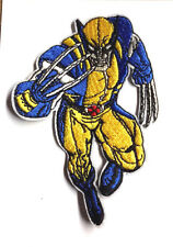 """X-MEN WOLVERINE Die Cut Figure  4"""" Embroidered Patch- FREE S&H  (XMPA-11)"""