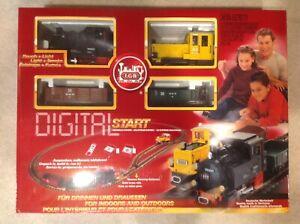 Lot of LGB 72255 Digital Start Train Set wi Track Transformer & 4 Locomotives