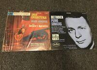 Tschaikowsky 1812 Overture & Beethoven Piano Sonatas Kuerti Lot Vinyl Records LP