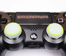 2 x klar grün Joystick Thumbstick Kappenl leuchtet PS4 PS3 XBOX Controller