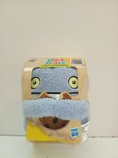 "Hasbro Ugly Dolls BABO To-Go Stuffed Plush Toy 5"" inch tall Clip On  BABO Blue"