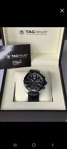 Tag Heuer Formula 1 One Chronograph Gents Watch Black CAZ1010 43mm Box & Papers