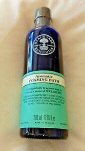 Neal's Yard Foaming Bath Remedies Organic Aromatic 200ml exp 03/24