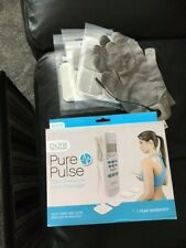 Pure Pulse TENS Electronic Pulse Massager + Extra Pads & Gloves