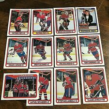 1990-91 O-Pee-Chee MONTREAL CANADIENS 25 CARD TEAM SET