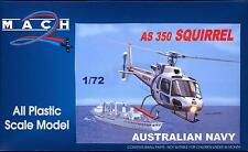 Mach 2 Models 1/72 EUROCOPTER AS 350 SQUIRREL Australian Navy Helicopter