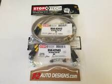 Stoptech F/R Stainless Steel Brake Line Set. Fits Nissan 370z and Infiniti G37.