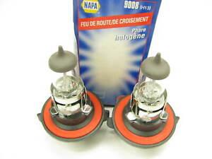(2) Napa 9008 Halogen H13 12B HB1 Headlamp Headlight Light Lamp Bulb