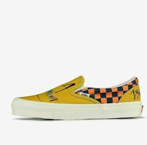 Vans Vault UA OG Classic Slip-On LX x Ralph Steadman Skate Shoes size 11.5