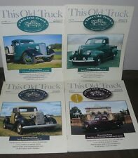 Lot of 4 Issues This Old Truck Magazine 1998 Vol 5 Nos 1 2 4 5