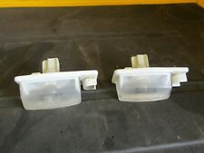 2007-2011 Nissan Altima OEM license plate lights