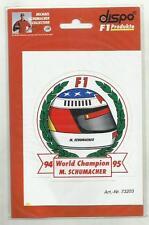 ADESIVO VINTAGE STICKER michael schumacher collection  mod7