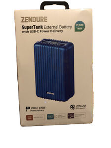 Zendure SuperTank Power Bank with 27000mAh (Crush-Proofed, 4-Port Quick Charge)