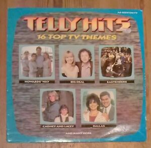 Various ‎– Telly Hits Vinyl LP Compilation 33rpm 1985 Stylus Music ‎– BBSR 508