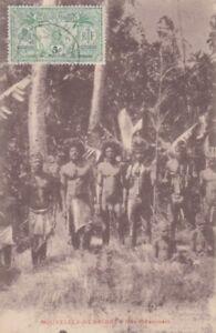 Ansichtskarte   Neue Hebriden  Eingeborene  1921
