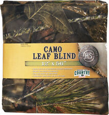 5f4148de7a78d Hunter Specialties Camo Leaf Blind Material Mossy Oak Country 56 in X 12 FT