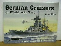 German Cruisers of World War II in action by Robert C. Stern with Don Greer 2005