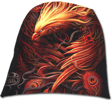Spiral Direct - PHOENIX ARISEN Beanie Hat, Bird Alternative gothic, BLAIZE MERCH