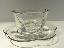 Duncan & Miller Canterbury Salad Dressing Bowl with Under Plate