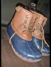 Boy Duck Boots Size 12c