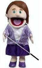 Silly Puppets Sarah Glove Puppet Bundle 14 inch with Arm Rod