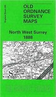 Old Ordnance Survey Map North West Surrey 1888 - England Sheet 285