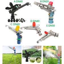 Adjustable Impact Sprinkler Gun Irrigation Lawn Spray Gun Garden Watering