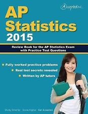 AP Statistics 2015: Review Book for AP Statistics Exam with Practice Test
