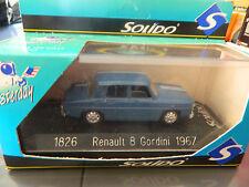 RENAULT R8 GORDINI 1967 SOLIDO 1/43