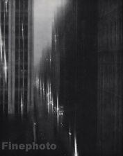 1925/63 Vintage 11x14 NEW YORK CITY Architecture Surreal Art By EDWARD STEICHEN