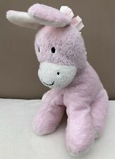 Mothercare Pink Taggy Horse Pony Comforter Soft Toy Baby Cuddle Soother