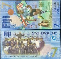 Fiji 7 Dollars 2016/2017 P 120 a Comm. AZ REPLACEMENT UNC