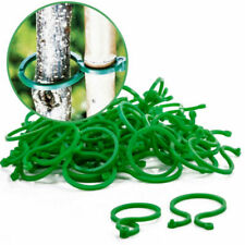 Wholesale 20Pc Reusable Garden Plastic Plant Ring Clips Tree Flower Support Ties