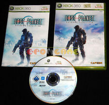 LOST PLANET EXTREME CONDITION Xbox 360 Versione Italiana 1ª Ediz ••••• COMPLETO