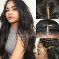 Real Remi Indian Virgin Human Hair Full Wig Glueless 360 Lace Frontal Wig Soft s
