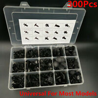 300Pcs Car Body Push Pin Rivet Trim Retainer Clip Panel Moulding Assortment Kits