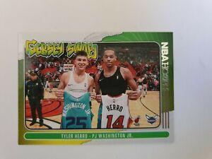 2020-21 Panini Hoops Basketball TYLER HERRO PJ WASHINGTON JR Jersey Swap #1