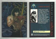 THE CROW CITY OF ANGELS CROW'MIUM O'BARR CHASE TRADING CARDS PICK ONE YOU NEED