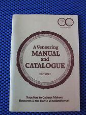 A VENEERING MANUAL AND CATALOGUE EDITION 2