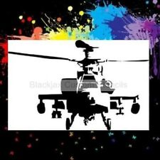 Apache Helicopter Airbrush Stencil,Camouflage