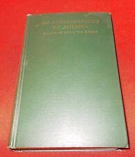 """Autobiography Of America""  Mark Van Doren  *1929 Signed 1st Edition*"
