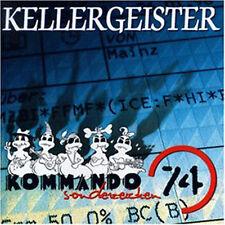 KELLERGEISTER Kommando Sonderzeichen 74 CD (1998 A.M. Music)