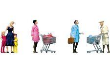 Faller 151035 HO 1/87 Au supermarché/Caddie - Supermarket/shopping trolleys