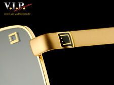 S.T.DUPONT LUNETTES BRILLE SONNENBRILLE GLASSES SUNGLASSES GOLD-FINISH OCCHIALI