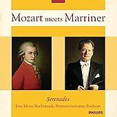 Mozart Meets Marriner: Serenades (CD, Aug-2006, Philips)