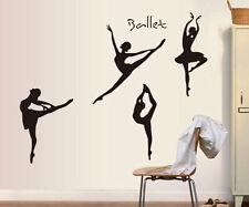 Ballerina Angel Girl Removable Wall Sticker Vinyl Decal Home School Mural Decor