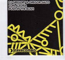 (HD103) DJ Gregory & Gregor Salto, Con Alegria / Push In The Bush - 2009 CD